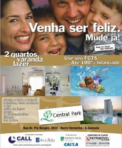 Campanha Central Park - Venha ser feliz. Mude-se já!