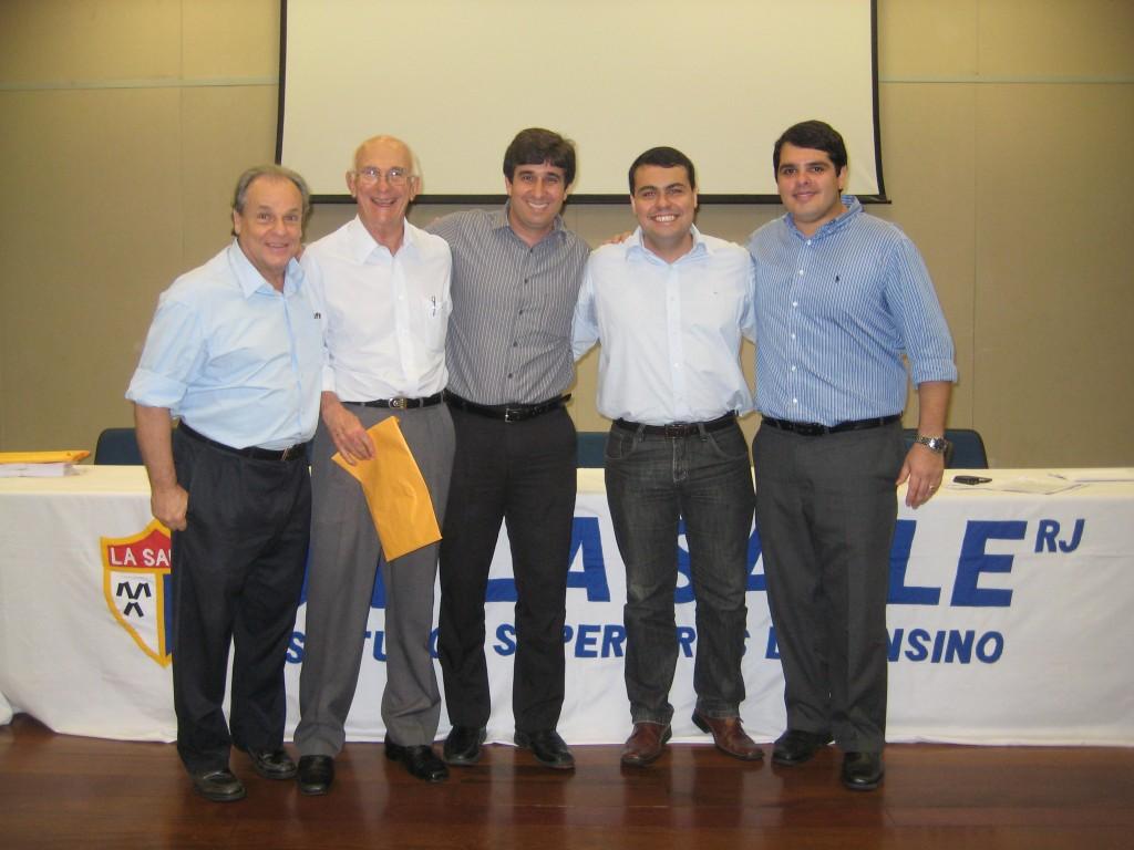 Salvador Guida, Paulo Nossar, Gustavo Amin, Rodrigo Alves, Bruno Serpa - Diretores da Patrimóvel e da CALL